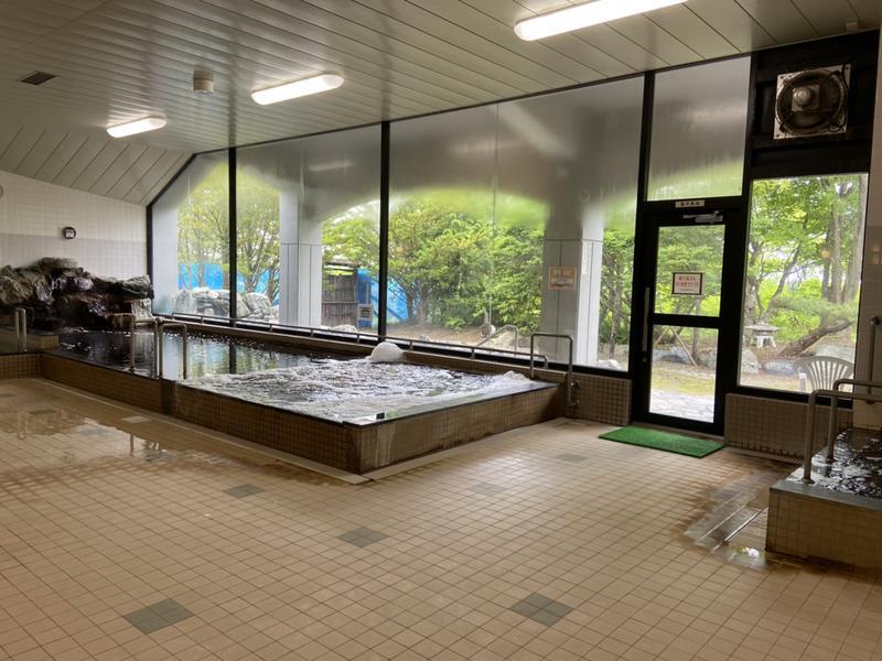 別海町ふるさと交流館 大浴場