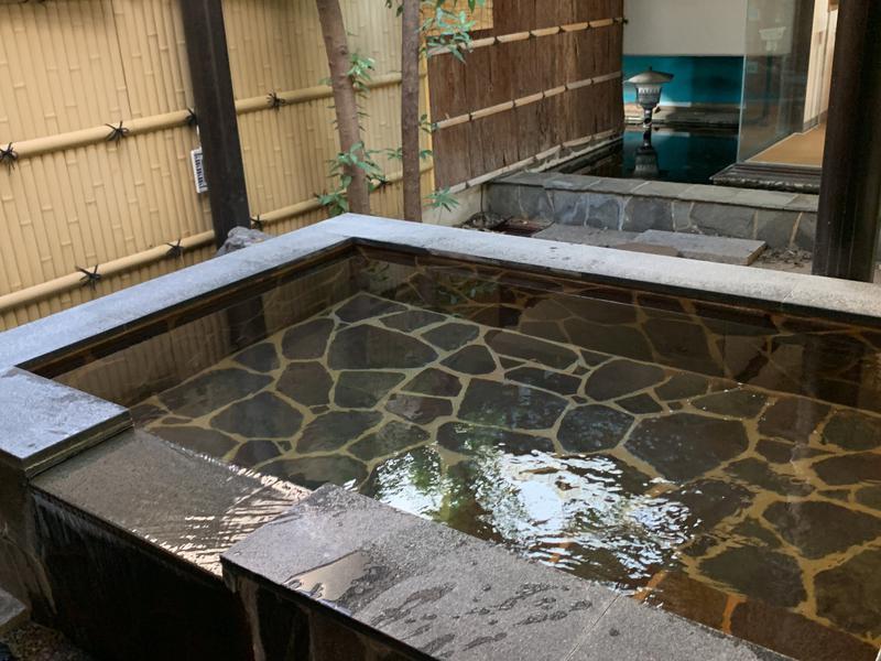 ひかりランド 南星の湯 露天風呂その1