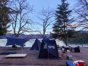 青木湖キャンプ場 写真