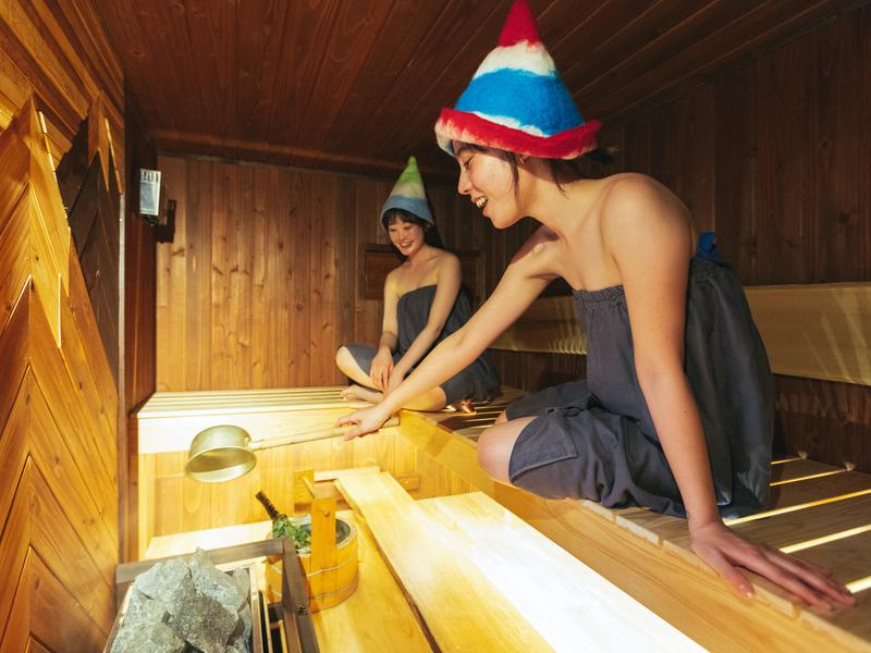 tabi-shiro sauna  (宿とサウナとジェラート) セルフロウリュ