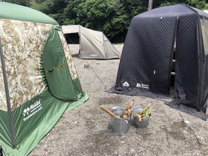 武甲キャンプ場 写真