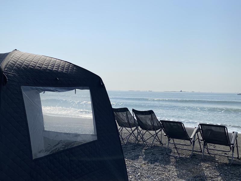 SHONAN BEACH SAUNA (湘南ビーチサウナ) 茅ヶ崎サザンビーチ