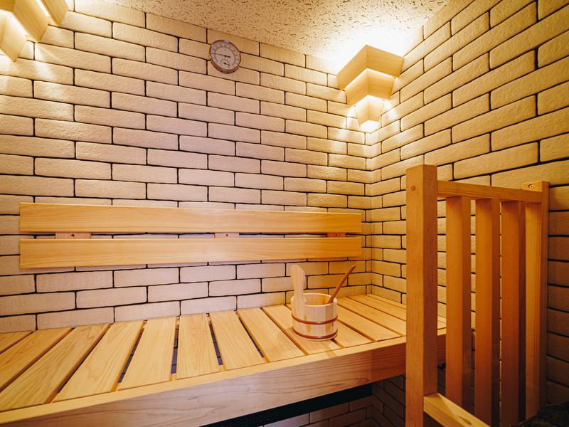 LINNAS Kanazawa Kuumus サウナ室内