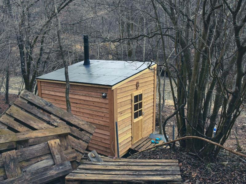 HAKOIRI SAUNA 最大8人収容可能のサウナ小屋