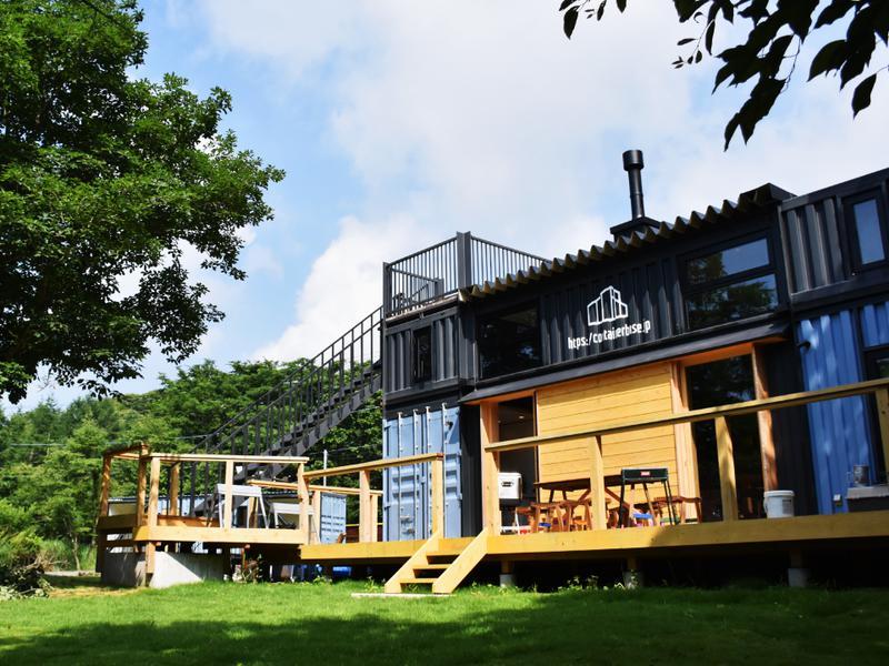HAKOIRI SAUNA 宿泊棟。サウナ後の楽しみの1つ。