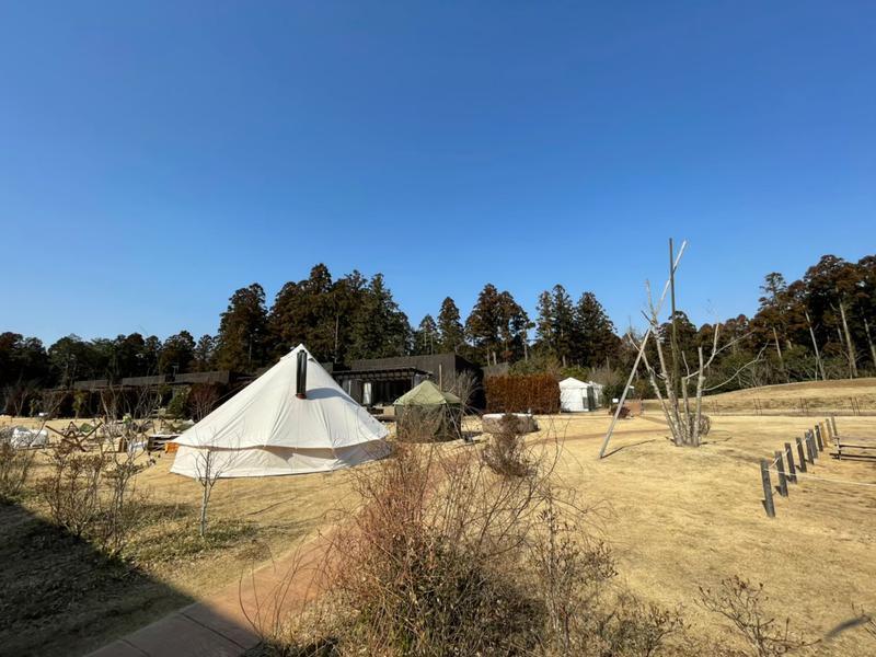 THE FARM CAMP(ザファームキャンプ) テントサウナ外観