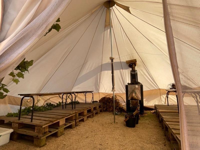 THE FARM CAMP(ザファームキャンプ) テントサウナ大