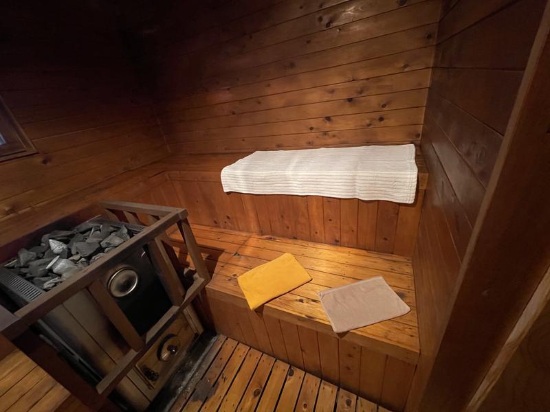 ホシフルSAUNA - 星の降る森 サウナ室内