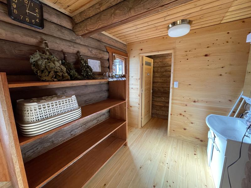 ホシフルSAUNA - 星の降る森 脱衣室