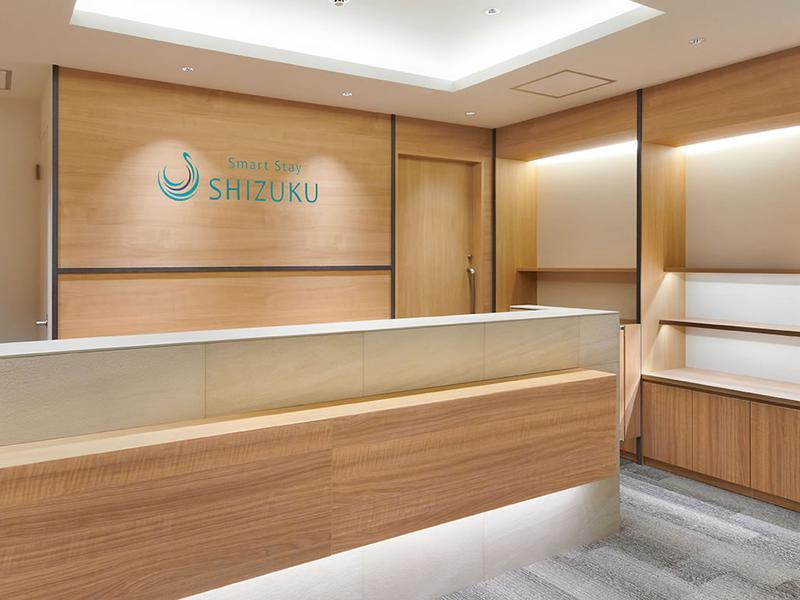 Smart Stay SHIZUKU 品川大井町 受付