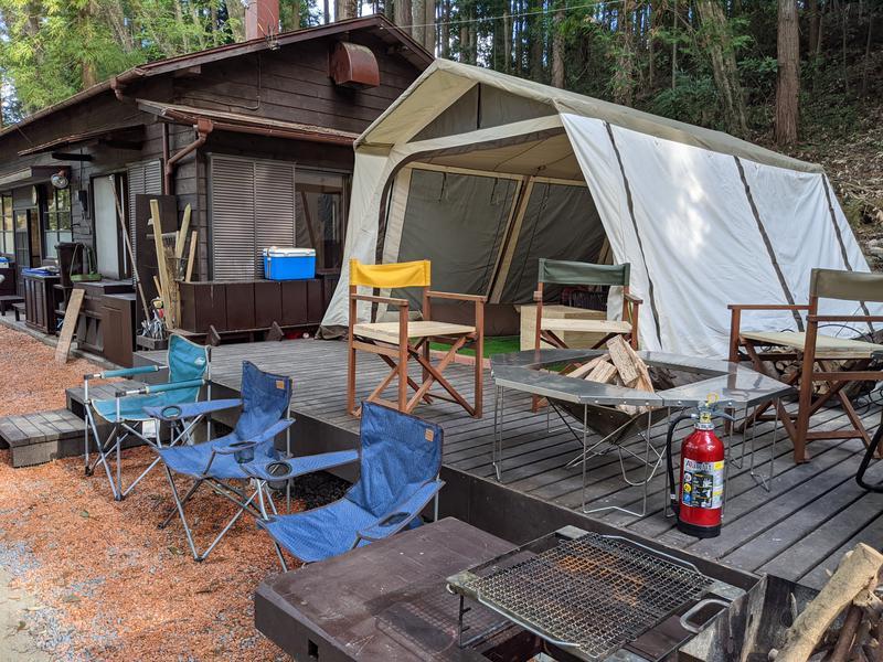 山法師キャンプ場 写真