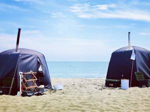 サザンビーチちがさき海水浴場 写真