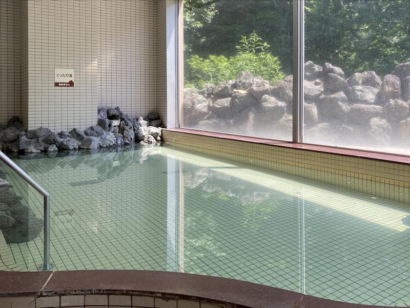 湯宿くったり温泉レイクイン 主浴槽
