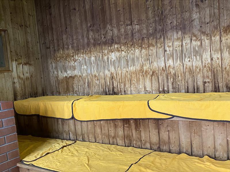 湯宿くったり温泉レイクイン サウナ室