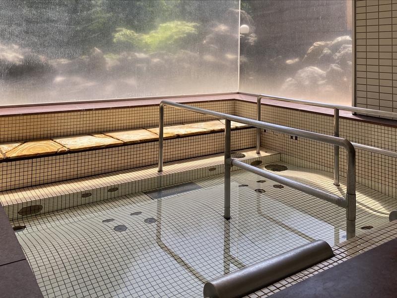 湯宿くったり温泉レイクイン 寝湯