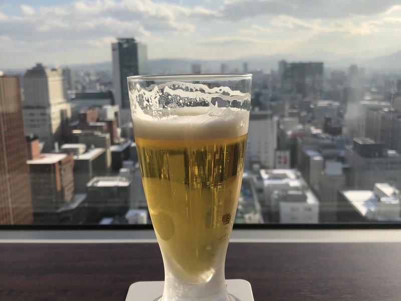 JRタワーホテル日航札幌 スカイリゾートスパプラウブラン ラウンジからの眺望
