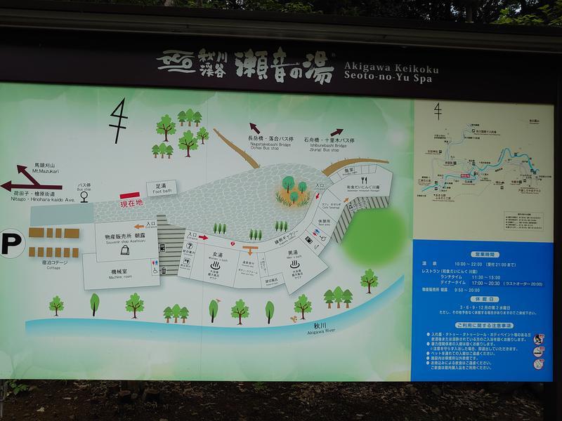 温泉登山トラベラーさんの秋川渓谷 瀬音の湯のサ活写真