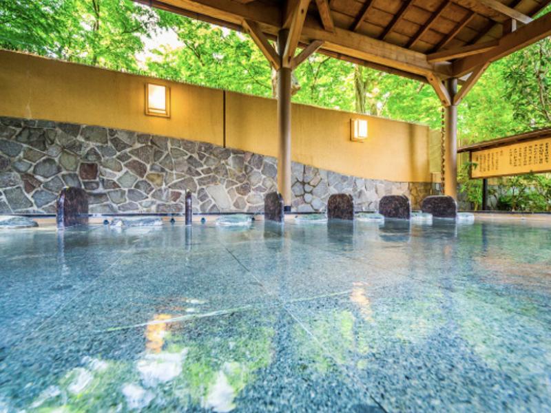昭島温泉 湯楽の里 寝湯