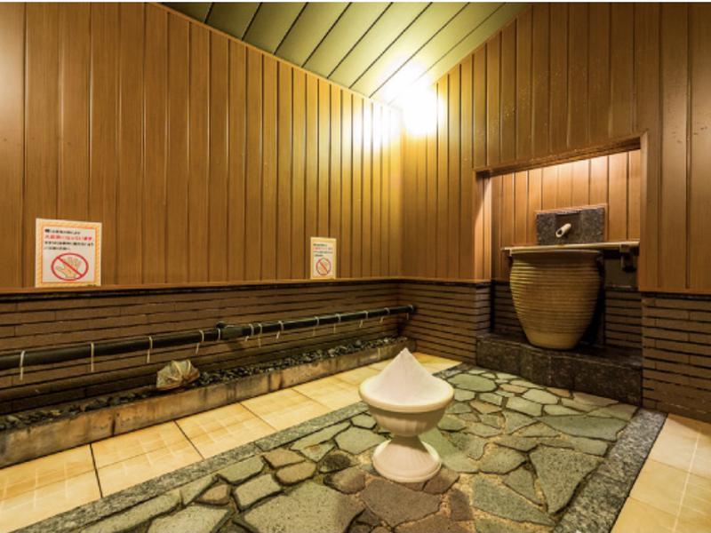 昭島温泉 湯楽の里 男 瞑想塩サウナ