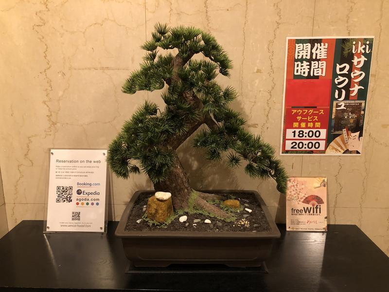 つむぐさんの上野ステーションホステル オリエンタル1のサ活写真
