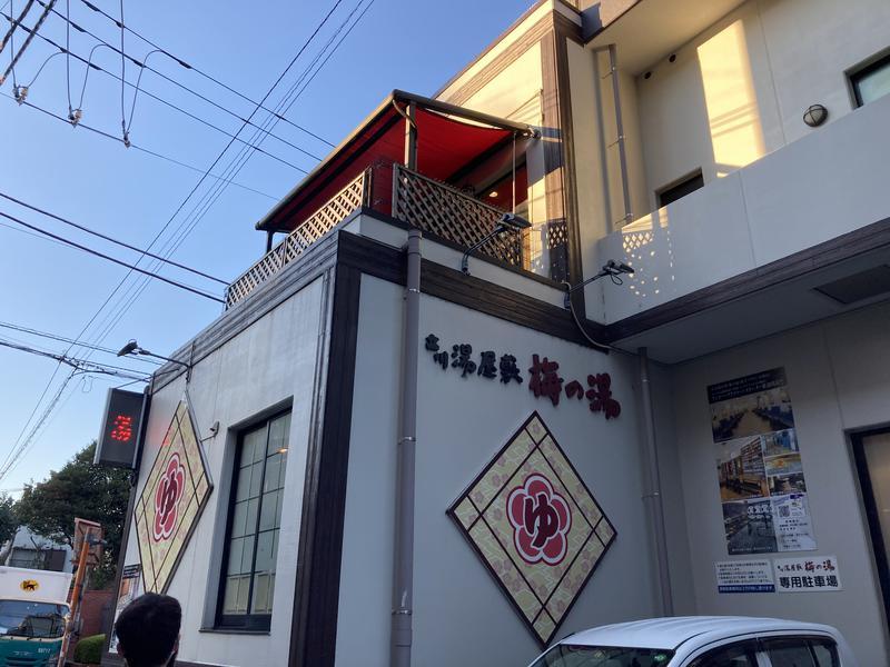 顔ハメは絶対やるのよさんの立川湯屋敷梅の湯のサ活写真