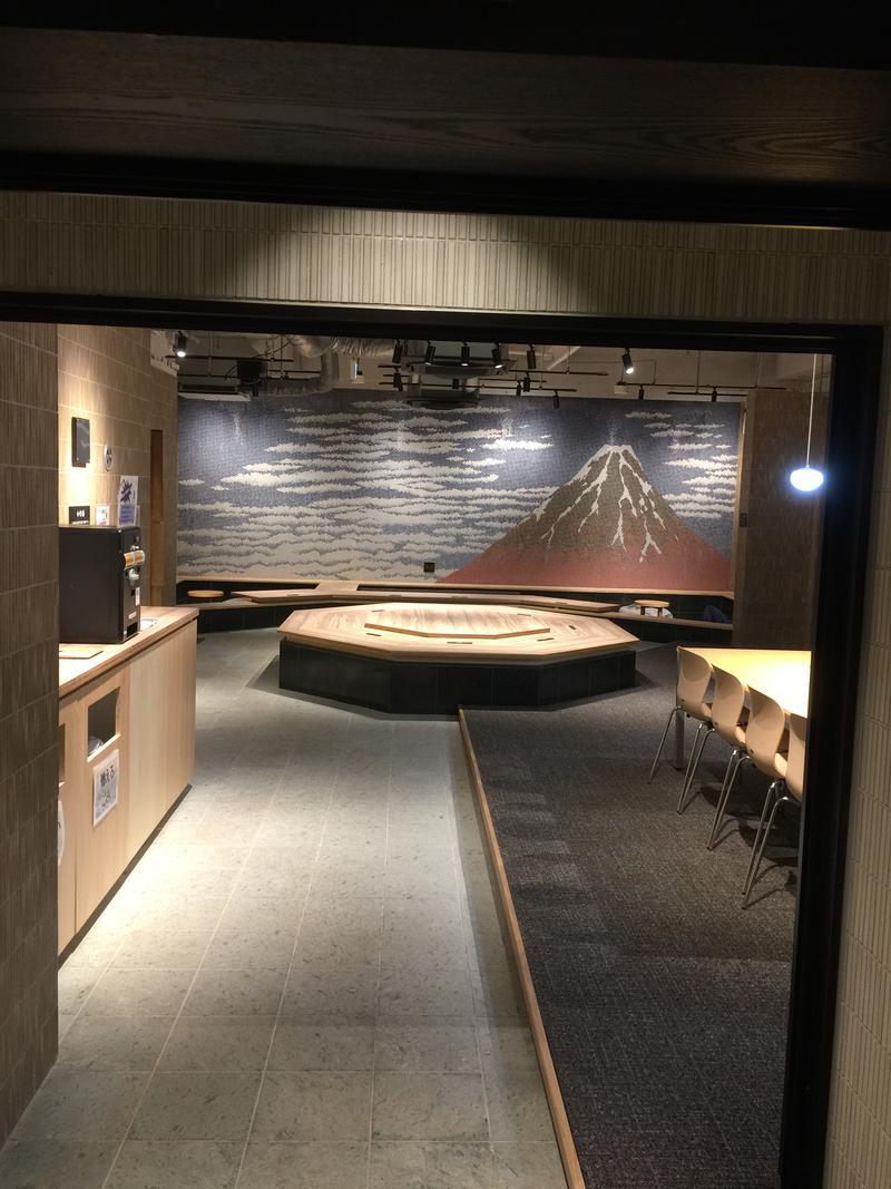 ワタルさんの両国湯屋江戸遊のサ活写真