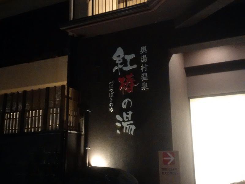 奥湯村温泉 紅椿の湯 写真