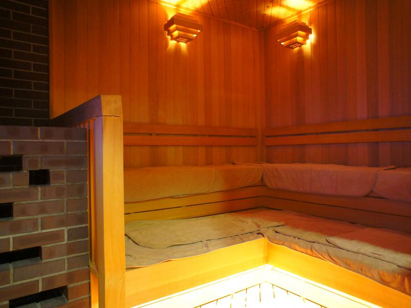 サウナリゾートオリエンタル(センチュリオンホテルグランド赤坂) サ室