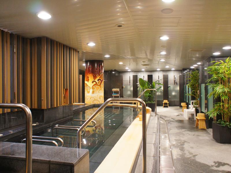 サウナリゾートオリエンタル(センチュリオンホテルグランド赤坂) 大浴場