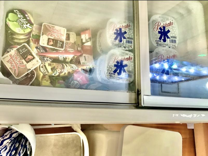 稲荷湯 アイス類はフロント横