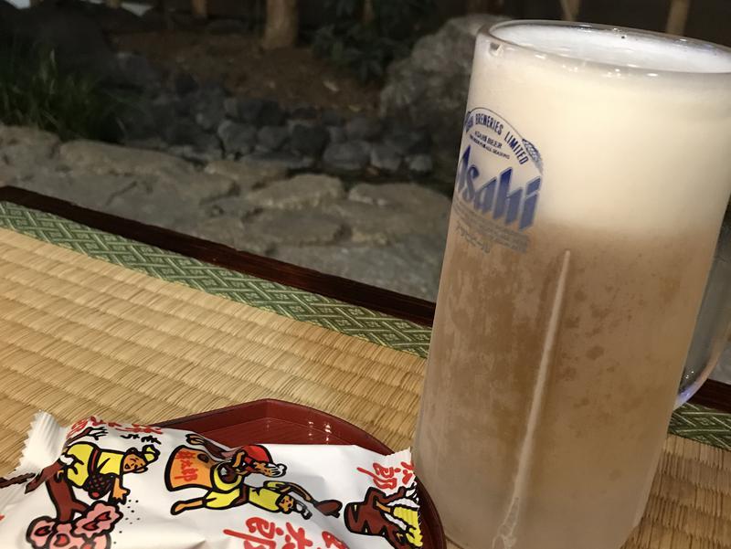 武蔵小山温泉 清水湯 縁側