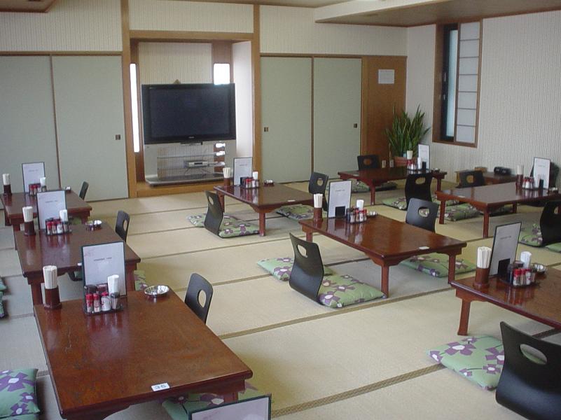 カプセルホテル・サウナみづほ レストラン
