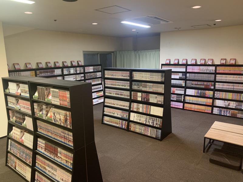 カプセルイン蒲田 ガーデンサウナ蒲田 漫画コーナー