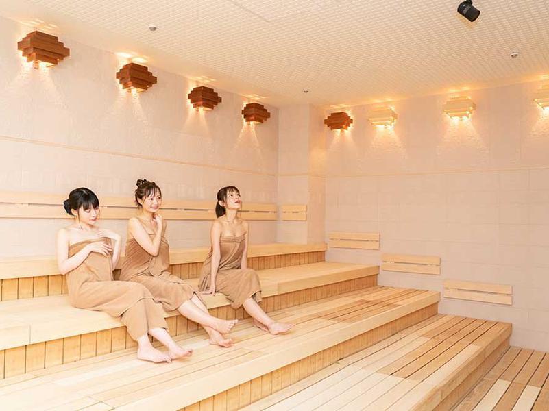 横濱スパヒルズ 竜泉寺の湯(横浜鶴ヶ峰店) サウナ室内