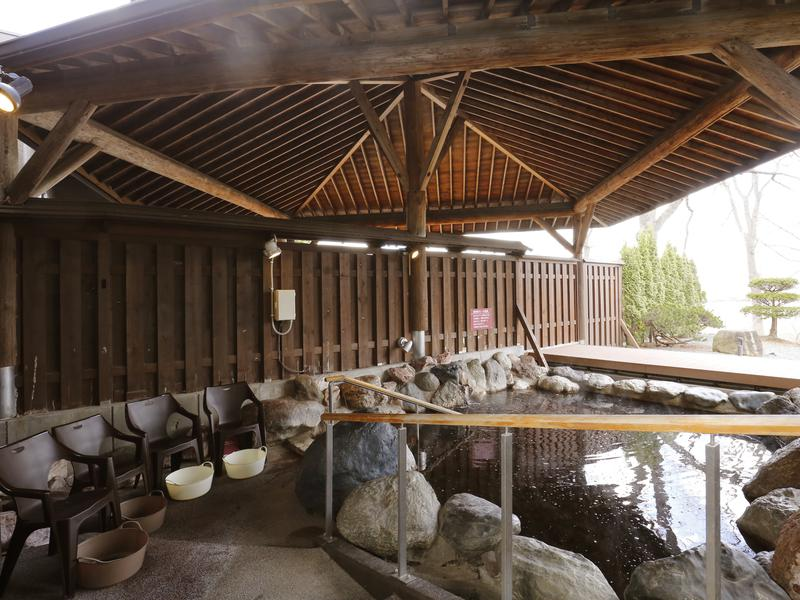 十勝川温泉 観月苑 露天風呂/ととのいスペース