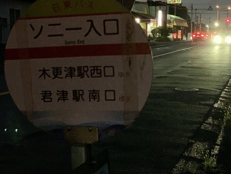 サウナきさらづ つぼや 日東バス「ソニー入口」停留所