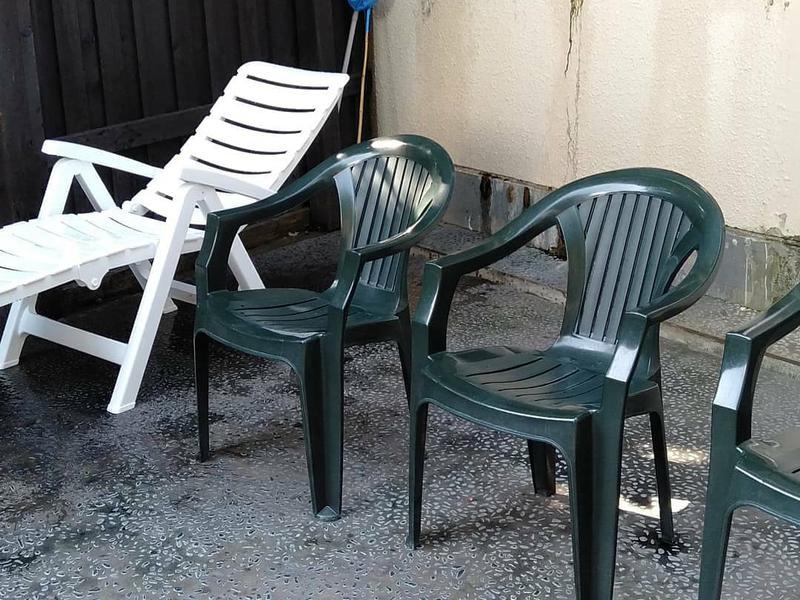ひまわり温泉 露天ととのい椅子