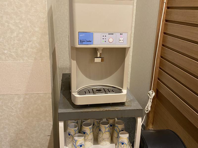 ホテル作州武蔵 給水機