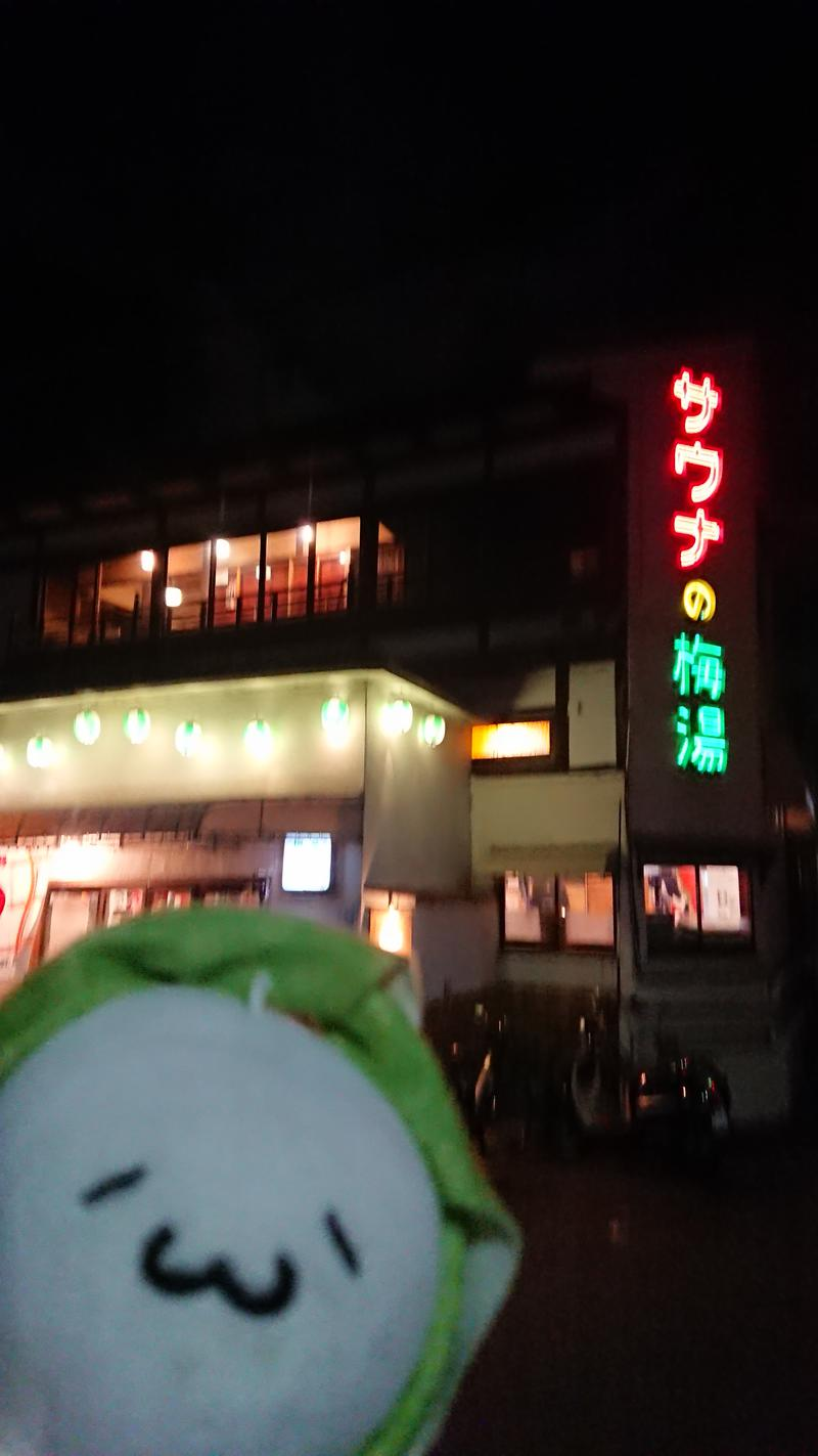 Fujitter@初志蒲鉄さんのサウナの梅湯のサ活写真