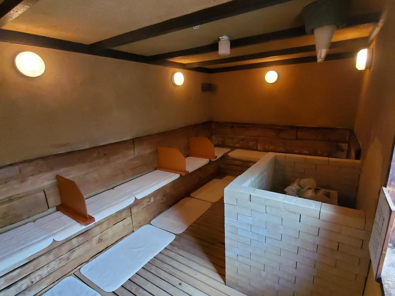 時之栖 natural hot spring & hotel 松之湯 女性黄土サウナ(高温)