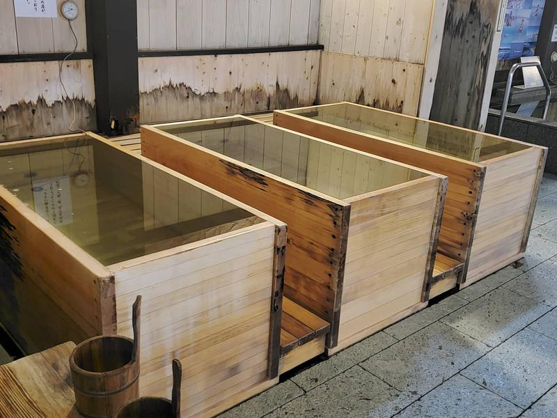 時之栖 natural hot spring & hotel 松之湯 男性冷水浴