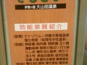 伊賀の国 大山田温泉 さるびの 写真