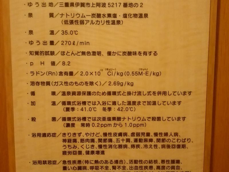 伊賀の国 大山田温泉 さるびの 写真ギャラリー2