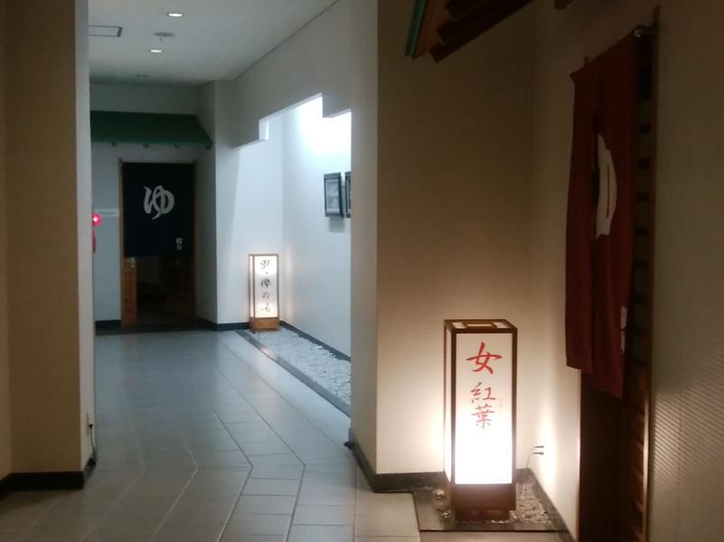 温井スプリングス 男女入口