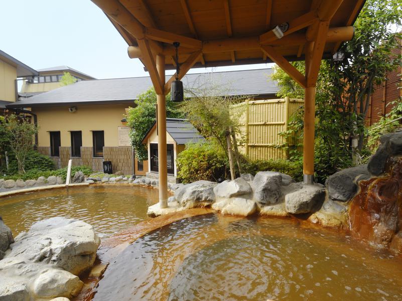 蔵前温泉さらさのゆ 源泉岩風呂
