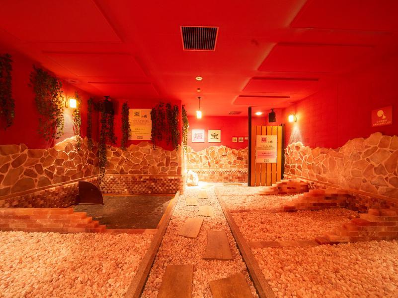 蔵前温泉さらさのゆ 岩盤浴 塩の癒