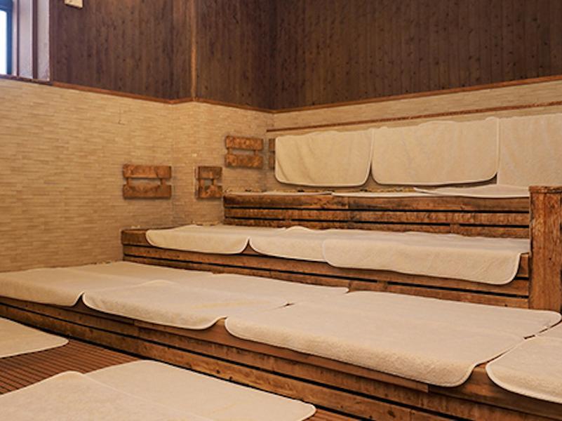 蔵前温泉さらさのゆ 浴室サウナ