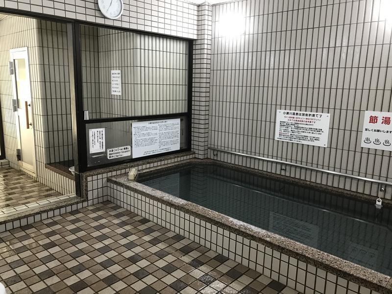 小瀬川温泉 お食事処「うどんの里」 温泉は40でぬるめの設定