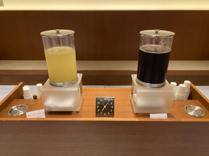 インフィニートホテル&スパ南紀白浜 フリードリンク(2種類のフレッシュジュース)