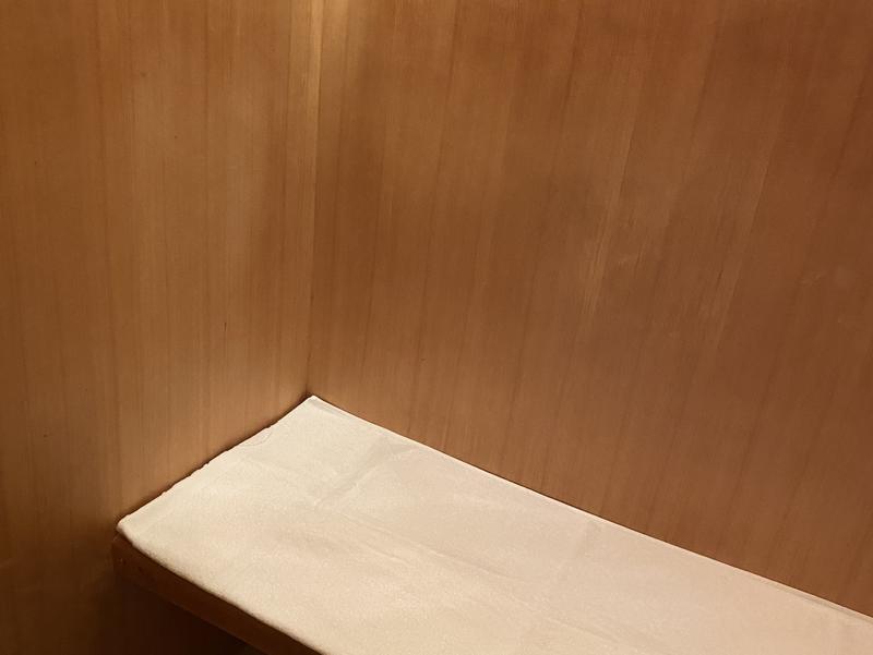 高知アネックスホテル ダブルの客室内サウナ